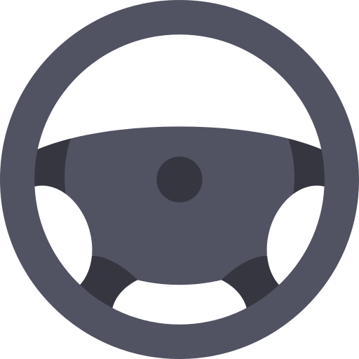 Steering Wheel Drive Png Icon