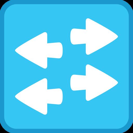 Cisco, Layer Networking, Stencil, Switch, Visio, Workgroup Icon