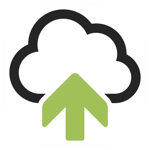 Cloud Upload Icon Iconexperience