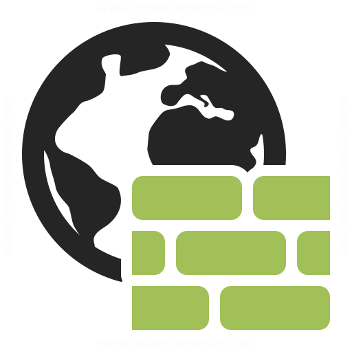 Firewall Icon Iconexperience