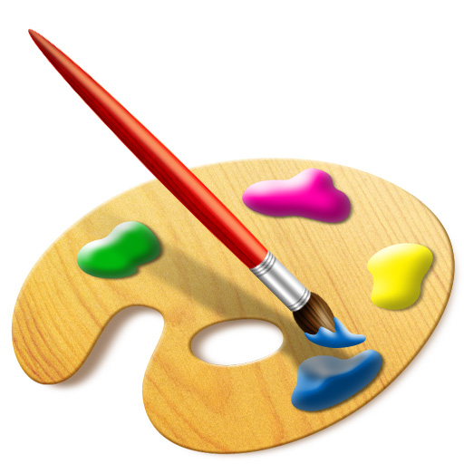 Medhley With Paint Brush Icon We Can Create A Set Of Digital