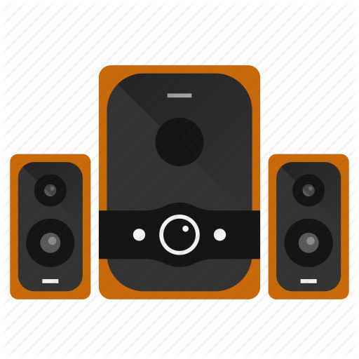 Audio, Bass, Devices, Music, Sound, Speakers, Stereo Icon