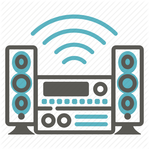 Audio, Loud, Loudspeaker, Music, Sound, Speakers, Stereo Icon