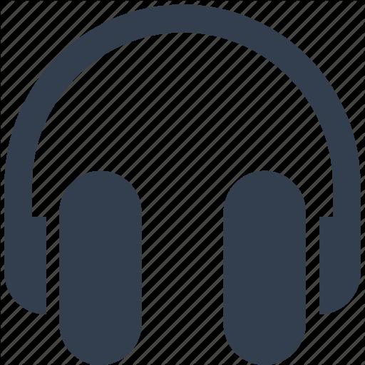 Equipment, Headphones, Listen, Multimedia, Music, Sound, Stereo Icon