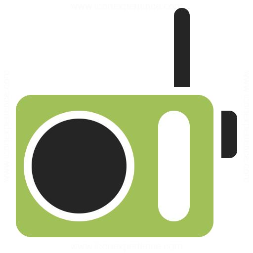 Radio Icon Iconexperience