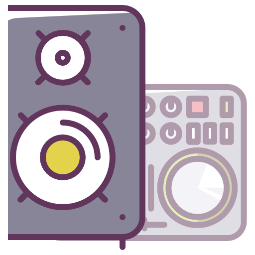 Sound, Music, Audio, Speaker, Stereo Icon Free Of Device Icons