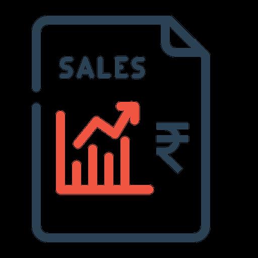 Sales, Growth, Finance, Rupee, Stock, Graph, Chart
