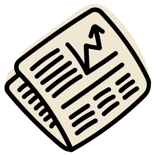 Market, News, Newspaper, Stock Icon Free Of Business And Finance