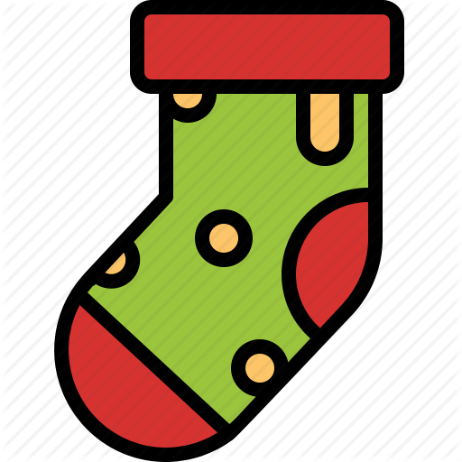 Christmas, Decoration, Ornament, Sock, Stocking Icon