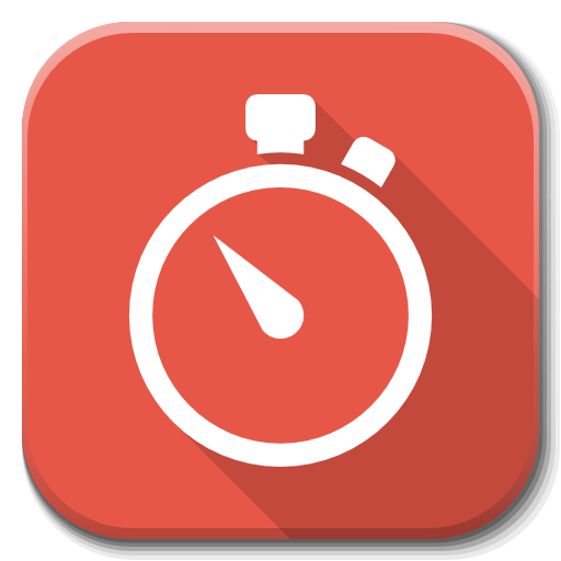 Apps Stopwatch Icon Flatwoken Iconset Alecive