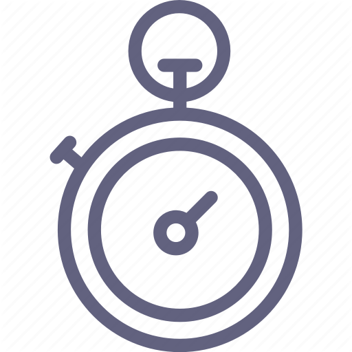 Stopwatch, Watch Icon