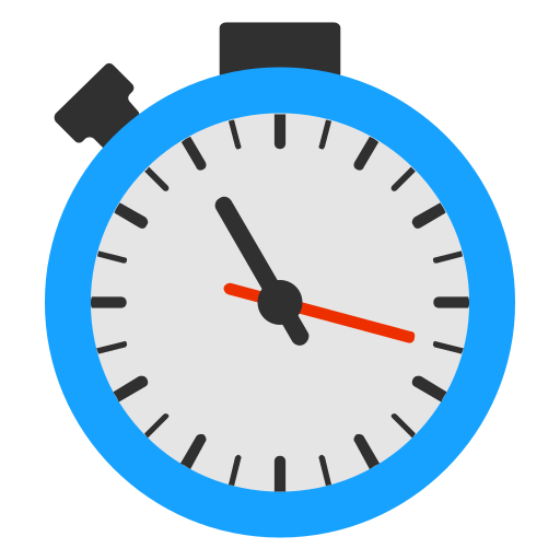 Stopwatch, Flat Icon Free Of Snipicons Flat