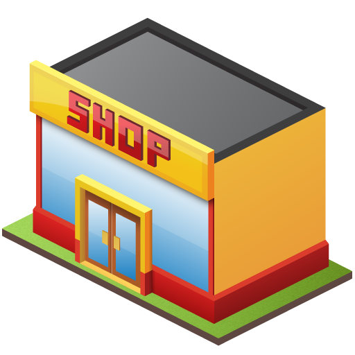 Icon Retail Store Free Vectors Download