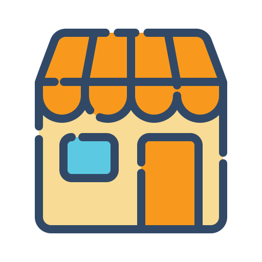 Store, Marketplace Icon Free Of Shopping Filled Line Icons