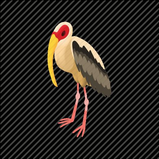 Art, Bird, Cartoon, Drawing, Graphic, Nature, Stork Icon