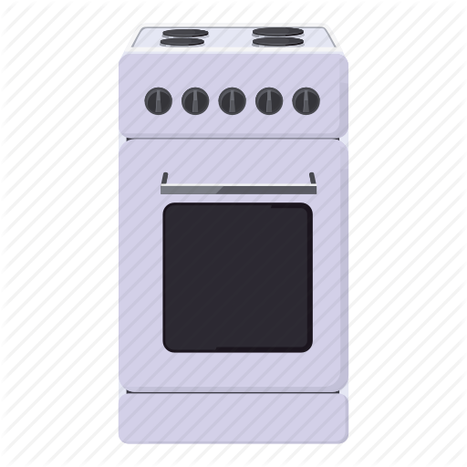 Cartoon, Cook, Cooking, Equipment, Food, Kitchen, Stove Icon