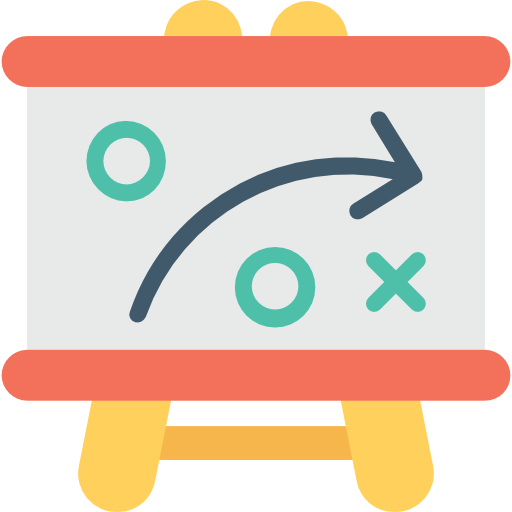 Strategy Icon Business Vectors Market