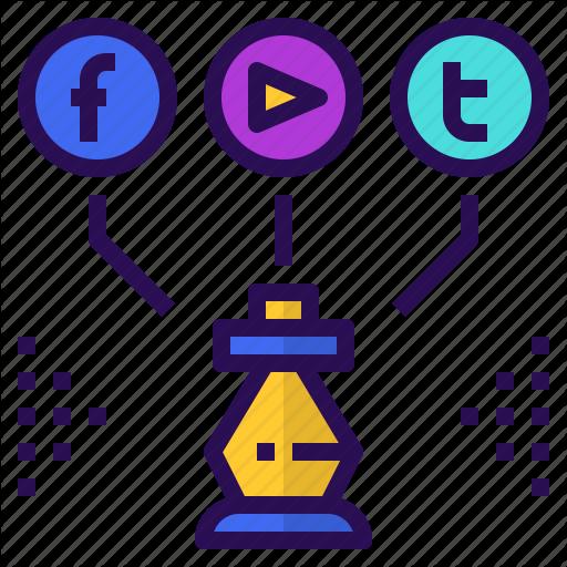 Marketing, Media, Plan, Social, Strategy Icon