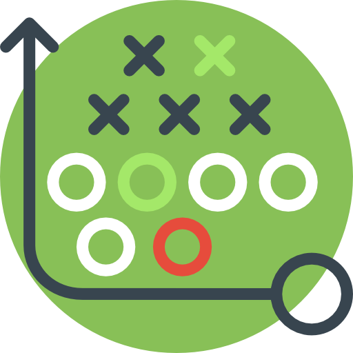 Planning, Sport, Sports, Business, Tactics, Strategy Icon
