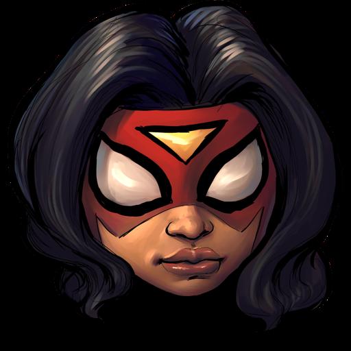 Comics Spiderwoman Icon Ultrabuuf Iconset Mattahan