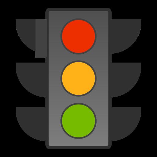 Traffic, Lights, Regular Icon Free Of Snipicons Regular
