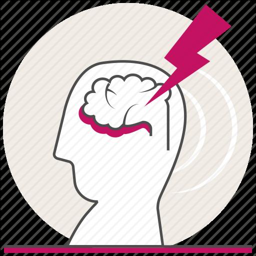 Acute Stroke, Headache, Health, Problems, Stroke Icon