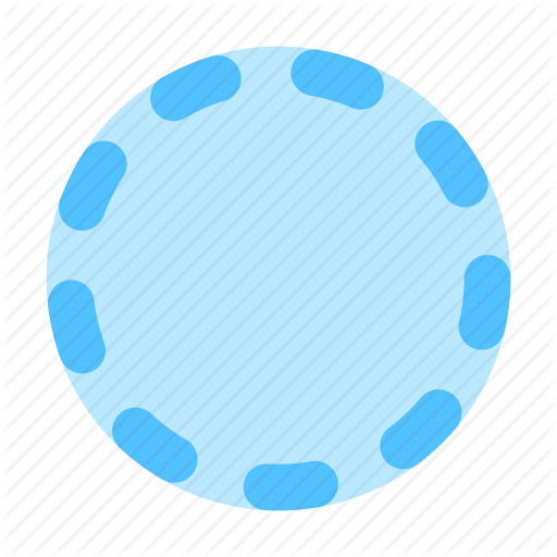 Badge, Dots, Stroke Icon