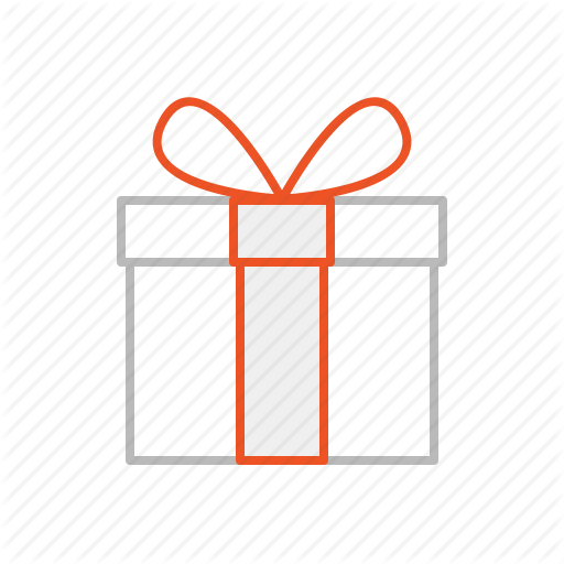 Birthday, Christmas, Gift, Line, Party, Present, Stroke Icon