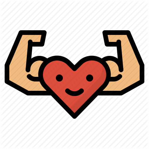 Exercise, Healthy, Heart, Strong Icon