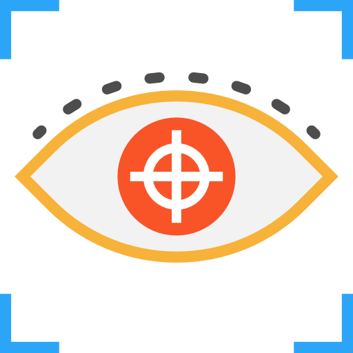Focus, Center, Strong Icon