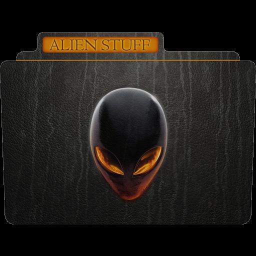 Alien Stuff Icon Tv Movie Folder Iconset Aaron Sinuhe