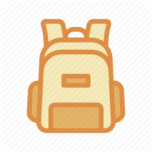 Apparel, Backpack, Stuff Icon