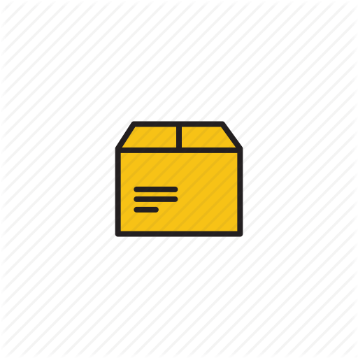 Box, Package, Stuff Icon