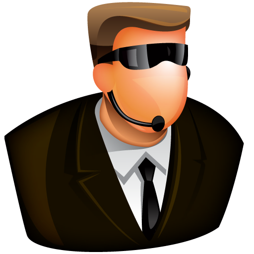 Security Guard Icon Free Large Boss Iconset Aha Soft