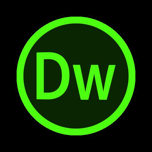 Adobe, Code, Css, Design, Dreamweaver, Web, Web Design Icon