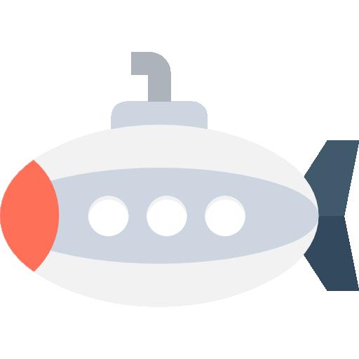 Submarine Icon Transport Vectors Market