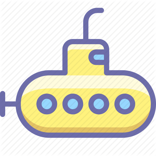 Bathyscaph, Submarine Icon