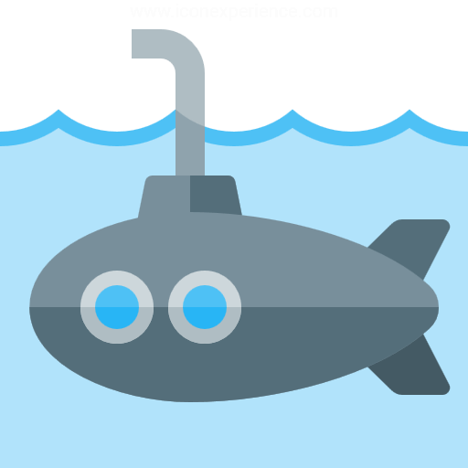 Iconexperience G Collection Submarine Icon