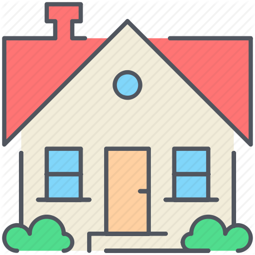 Home, House, Property, Real Estate, Residential, Suburb, Villa Icon