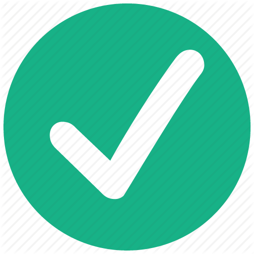 Accept, Check, Ok, Success, Tick, Valid, Yes Icon