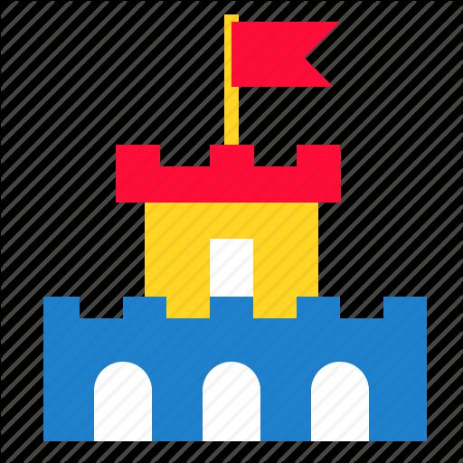 Castle, Goal, Mission, Strategy, Success Icon