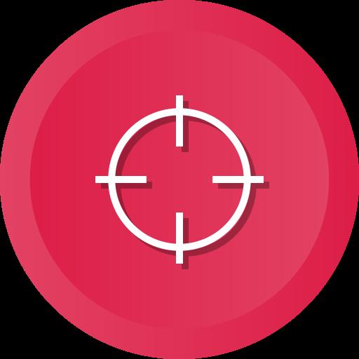 Aim, Archery, Focus, Success, Goal, Objective, Target Icon Free