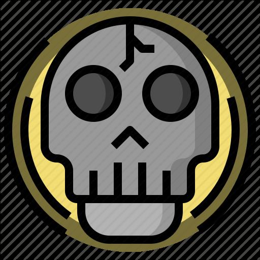 Bone, Danger, Dead, Halloween, Healthcare, Poison, Skull Icon