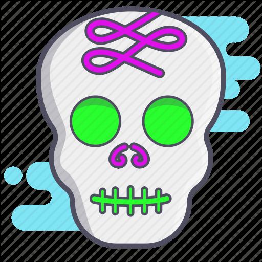 Calaverita, Dia De Los Muertos, Mexican Holiday, Skull, Sugar