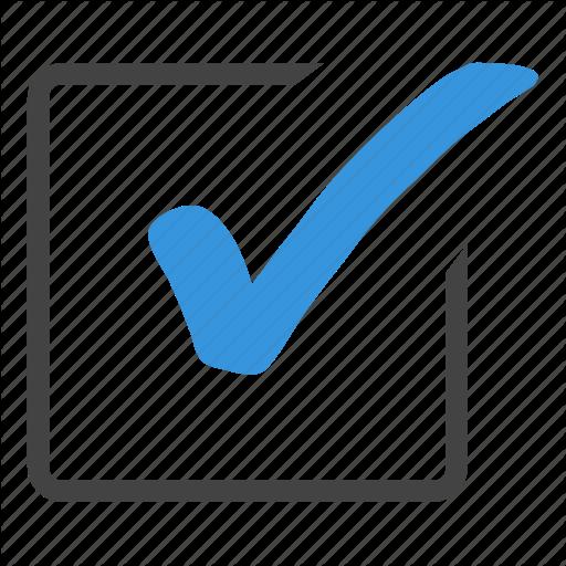 Blue Checkbox Icon The Image Kid Has It!, Windows