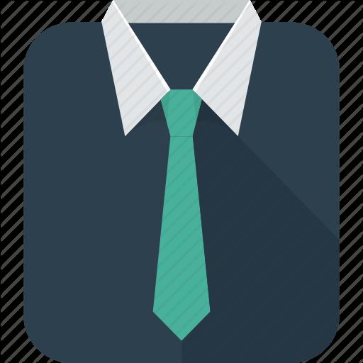Business, Clothing, Shirt, Suit, Tie, Vest Icon