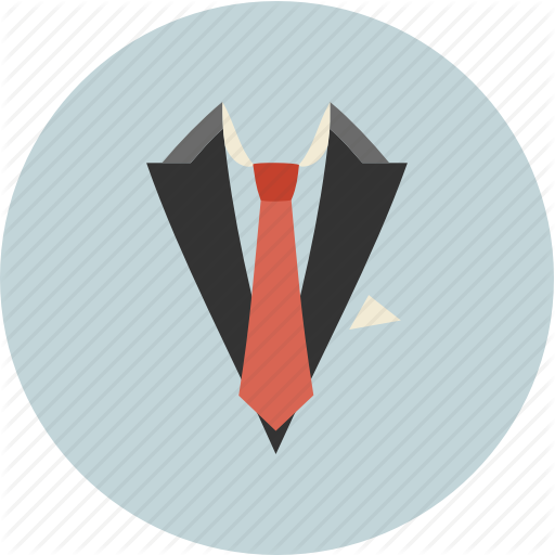 Business, Office, Suit, Tie Icon