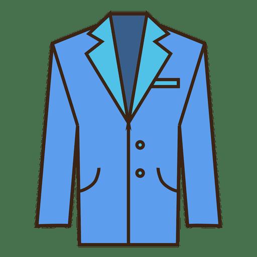 Blue Suit Icon