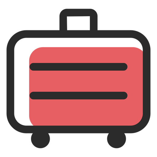 Travel Suitcase Colored Stroke Icon