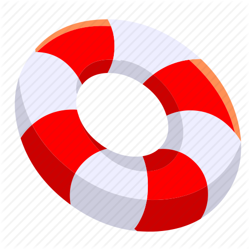 Beach, Buoy, Ocean, Safe, Safety, Sea, Summer Icon